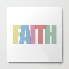 Faith (Color) Metal Print