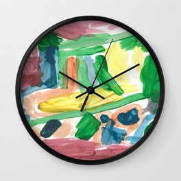 """Truck"" by Mercurius Wall Clock"