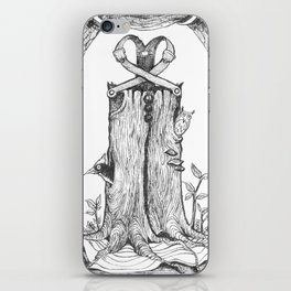 Haunted Clothing- The Eternal Wooden Pants iPhone Skin