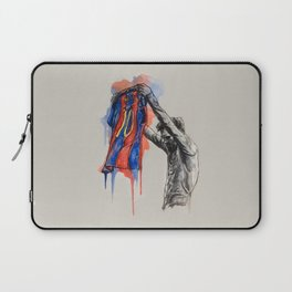 Messi celebration Laptop Sleeve