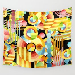 Art Deco Maximalist Wall Tapestry