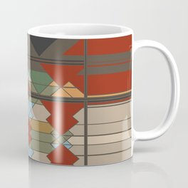 Tribal Southwestern Geo Design Coffee Mug