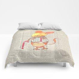 Ole Grandpa Mouse Comforters