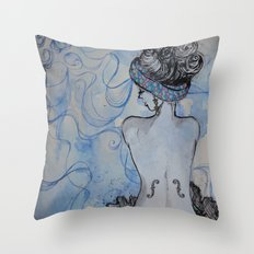 Man Ray inspired Throw Pillow