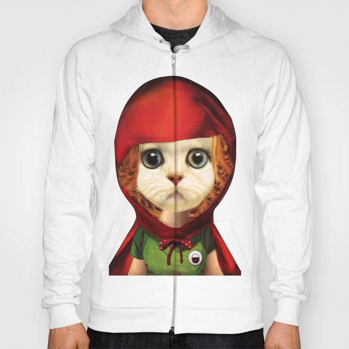 Kitten red riding  Hoody