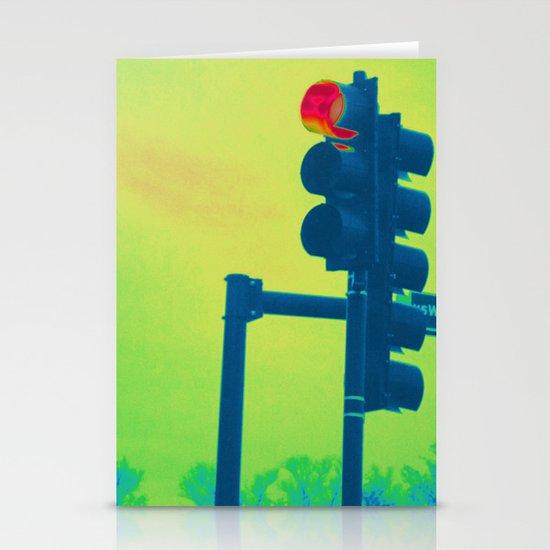 Stop Light Stationery Cards