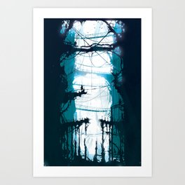 City of Lost Muses Art Print