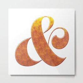 ampersand beer Metal Print