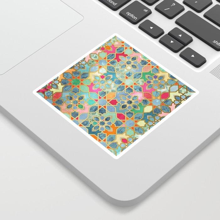 Gilt & Glory - Colorful Moroccan Mosaic Sticker