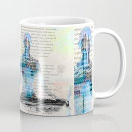 Yoga Book. Lesson 1 Concentration - painting - art print  Coffee Mug