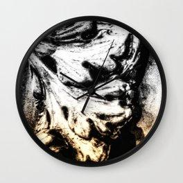 LEAF - GOLD Wall Clock