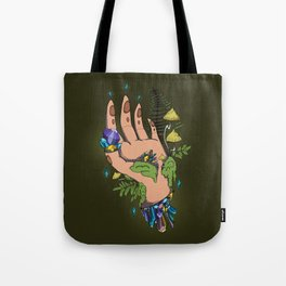 Crystal hand Tote Bag