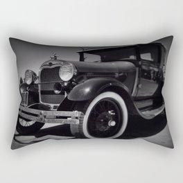 the good old days Rectangular Pillow