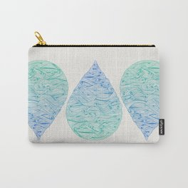Ombré Droplet Carry-All Pouch