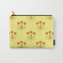 Waffle and Syrup (Yellow Cake Fluff) Carry-All Pouch