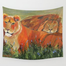 It's Good to be King Wall Tapestry