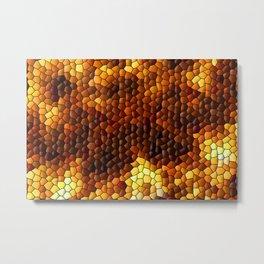 Hot mosaic ... Metal Print