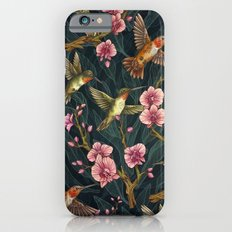 Hummingbird Pattern iPhone 6 Slim Case