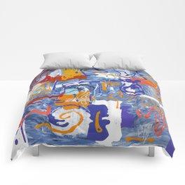 Shamanic Painting 01 Comforters