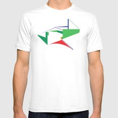 Reformed Church MEDIUM White Mens Fitted Tee