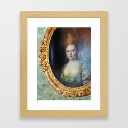Roccoco Apple blossom Framed Art Print