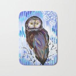 Owl Phone case Bath Mat