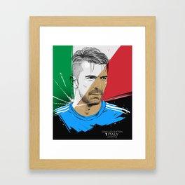 Gianluigi Buffon Framed Art Print