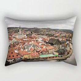 Cesky Krumlov Views Rectangular Pillow