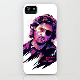 Kurt Russell: BAD ACTORS iPhone Case