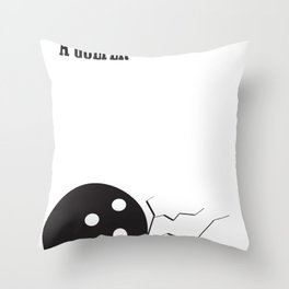 Obviously, You Are Not A Golfer Throw Pillow