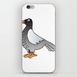 cartoon pigeon. iPhone Skin