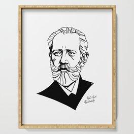 Pyotr Ilyich Tchaikovsky Serving Tray