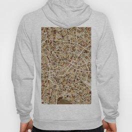 Berlin Germany City Map Hoody