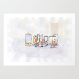 Well Wishers Art Print
