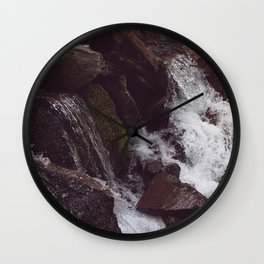 Proxy Falls Close Up Wall Clock