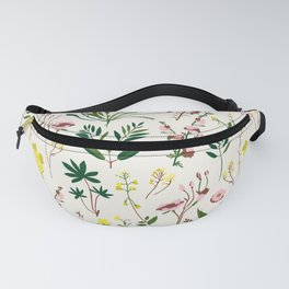 WILDFLOWER STUDY Fanny Pack