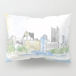 Pittsburgh Point Pillow Sham