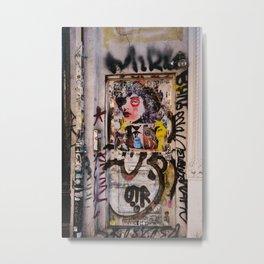 East Village Street Art II Metal Print