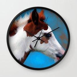 Blue Eyes Wall Clock