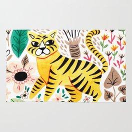 Tiger Jungle Rug