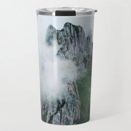 Flower Mountain in Switzerland - Landscape Photography Travel Mug