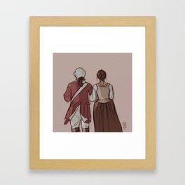 #AnnlettForever Framed Art Print