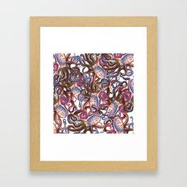 Riptide_sailor tattoo Framed Art Print
