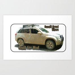 Suzuki Zook Mud Grand Vitara Art Print