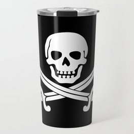 Jolly Roger Pirate Travel Mug