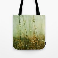 meditation Tote Bags featuring Meditation by Olivia Joy StClaire