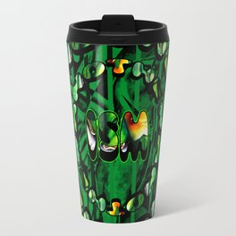 Flowers in Another ism Travel Mug