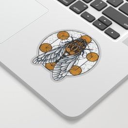 Cicada Sticker