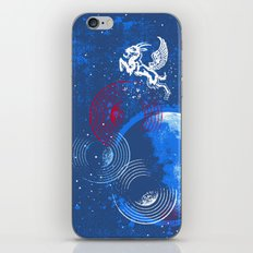 Winged Goat of the Cosmos iPhone & iPod Skin