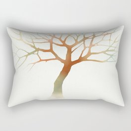 Water Tree Rectangular Pillow